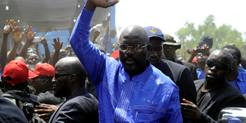Super Eagles can win the World Cup, says George Weah